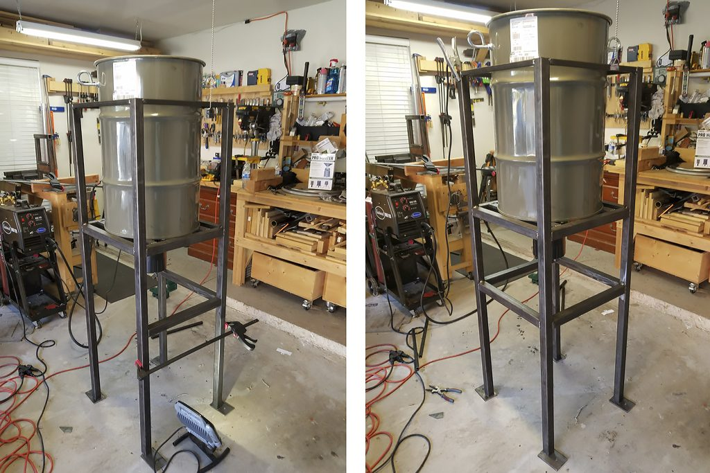 Constructing a Bear-Proof Deer Feeder - Synaptic Endeavors